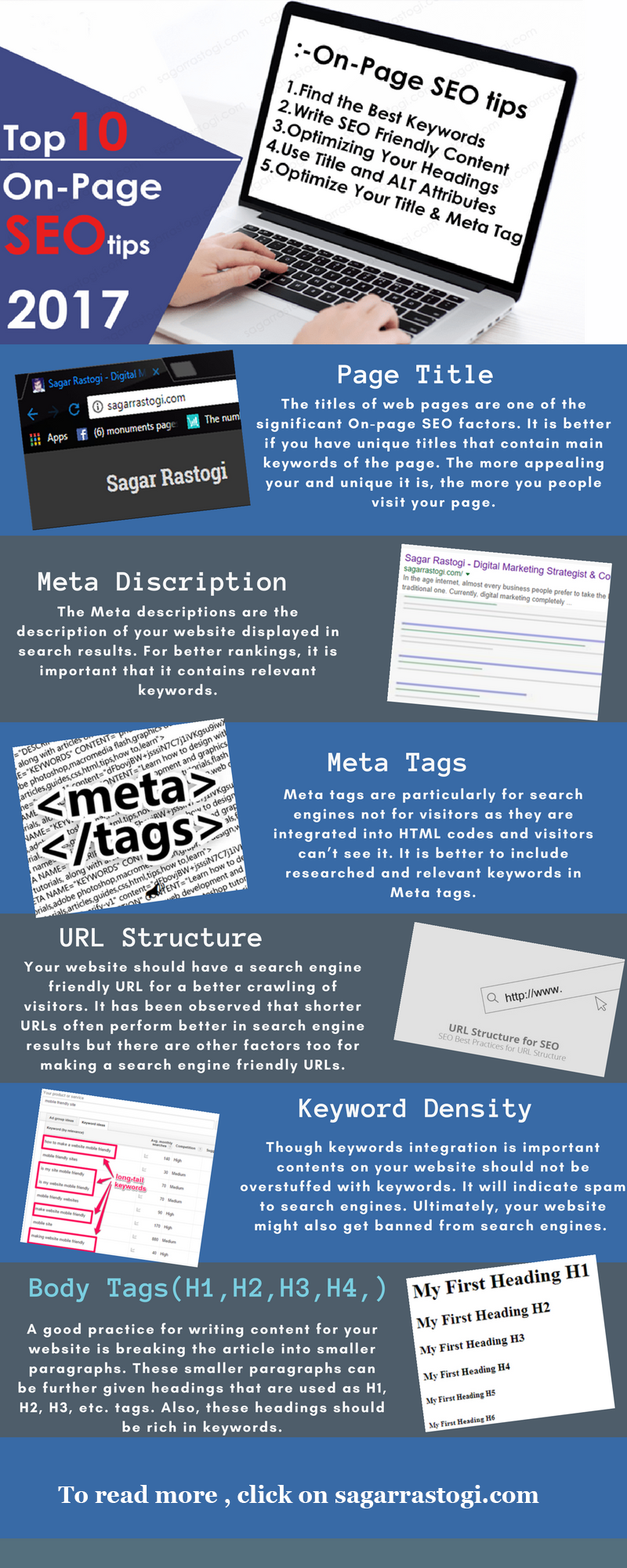top 10 on page SEO tips